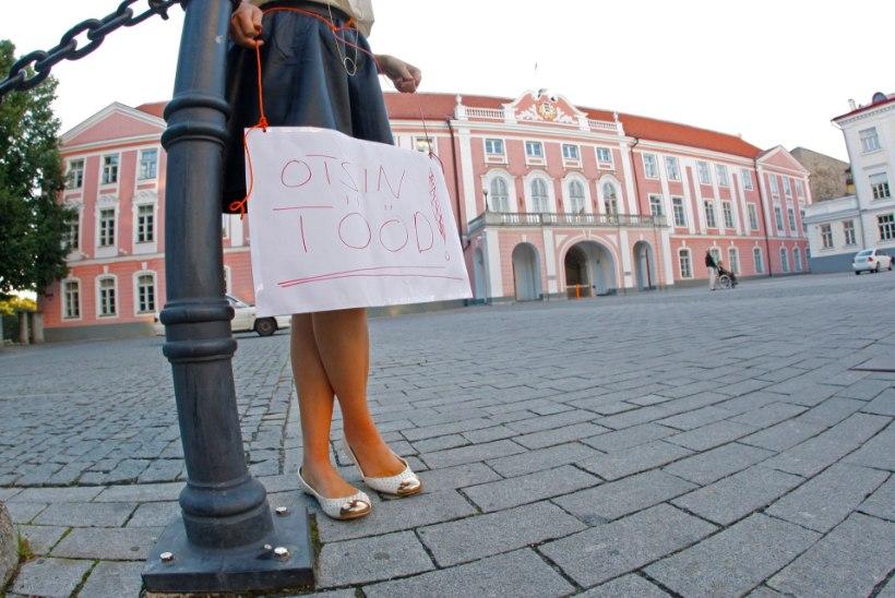 Kaks kuud eriolukorda kasvatas töötust Eestis kolmandiku võrra, eriti valusalt said pihta naised