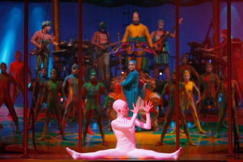 HÄVING: maailmakuulus Cirque du Soleil koondab ligi 3500 töötajat