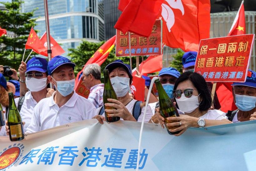 Hiina parlament võttis vastu Hongkongi kurikuulsa julgeolekuseaduse