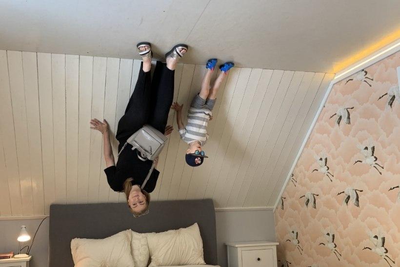 SEIKLUSLIK LINNAPUHKUS: Tartus saab lapsega lustida pea alaspidi ja põnevalt õõvatekitavalt
