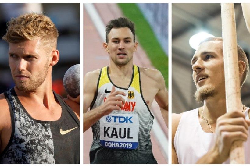 Kümnevõistluse gigandid Mayer, Kaul ja Uibo peavad isemoodi spordilahingu