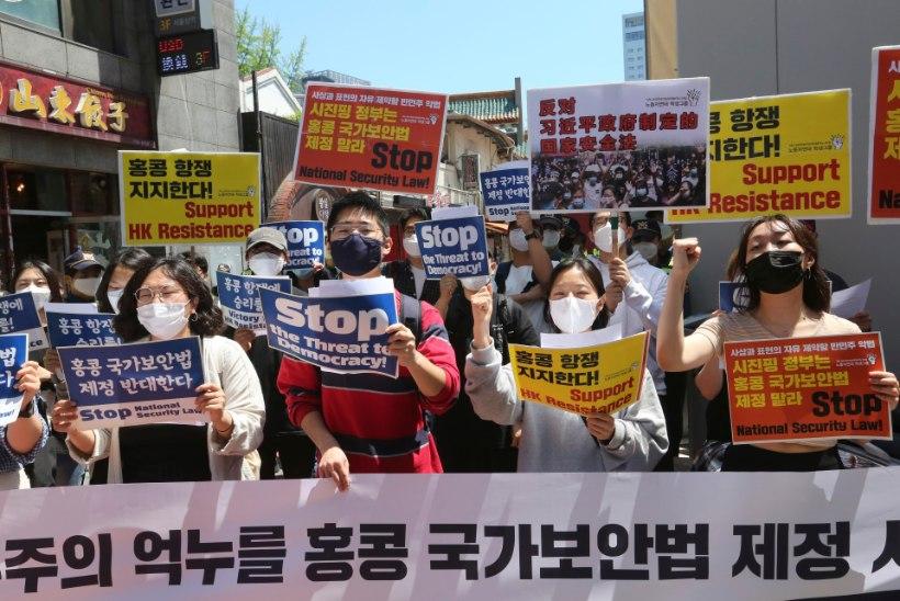 HONGKONGI TULEVIK ON TUME: Pekingi uus seadus demokraatiale head ei tõota