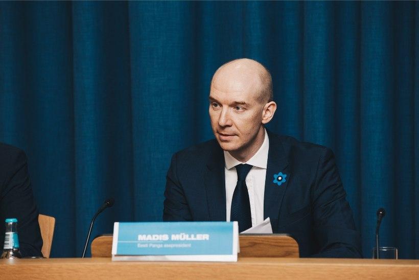 PIILUME KÕRGETE RIIGITEGELASTE RAHAKOTTI: kes teenivad Kaljulaidist rohkem? Kust võttis laenu Eesti Panga president?