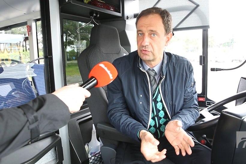 ÕL VIDEO | HÜPPA SISSE! Tallinna tänavatel vurab testimiseks tasuta elektribuss