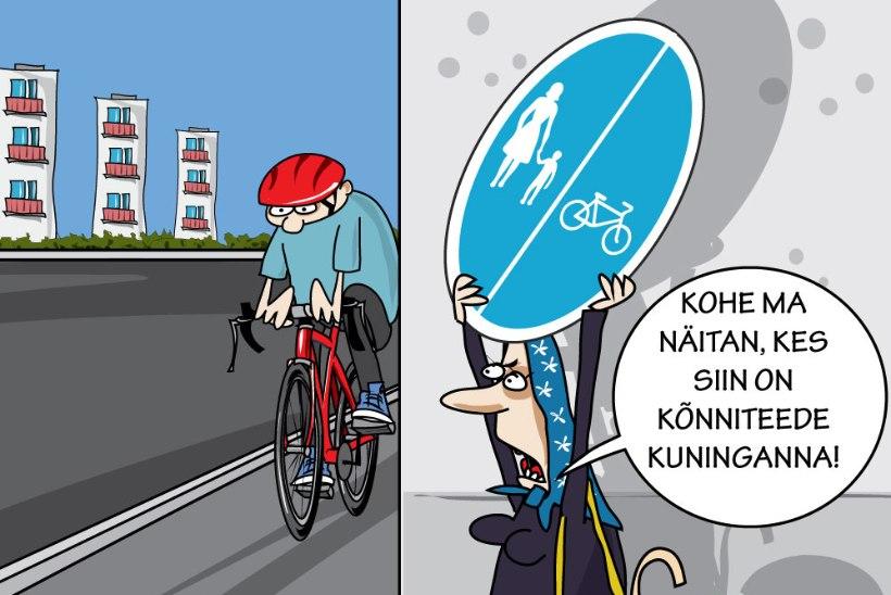 Heljo Pikhof | Nakkav jalgrattahuligaansus