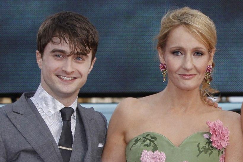 Potteri-filmide täht palub kirjanik Rowlingu skandaalsete sõnade eest vabandust