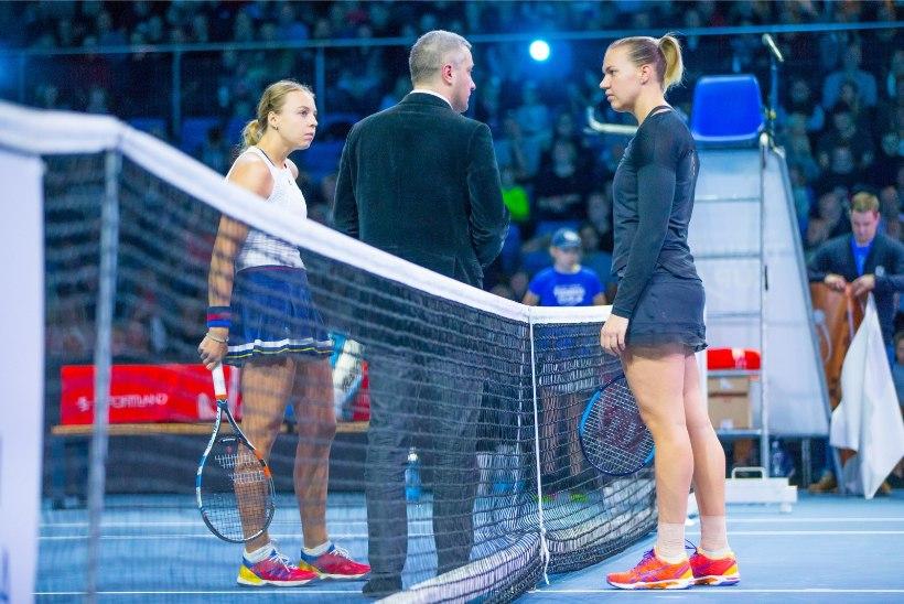 Mis on saanud tenniseliidu ideest korraldada Kontaveidi ja Kanepi vaheline matš?