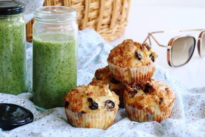 MÕNUS RANNATOIT: vahemerelised muffinid koos värskendava kurgikülmsupiga