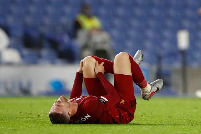 TAGASILÖÖK: Liverpooli kapteni hooaeg on vigastuse tõttu läbi