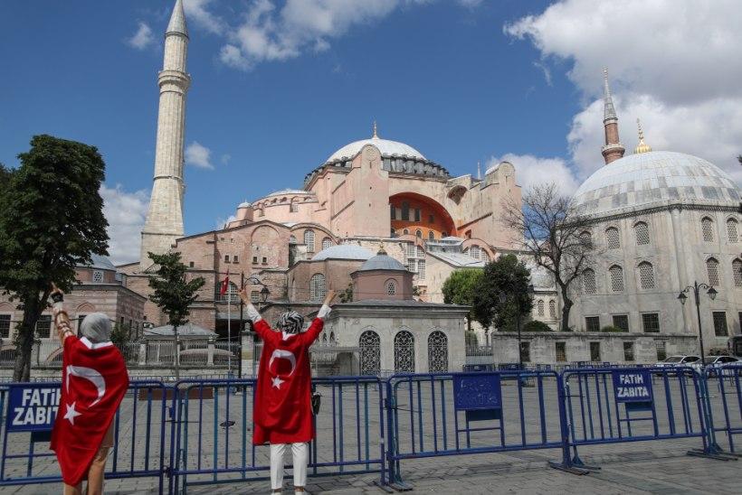Türgi otsustas: Hagia Sophiast saab mošee