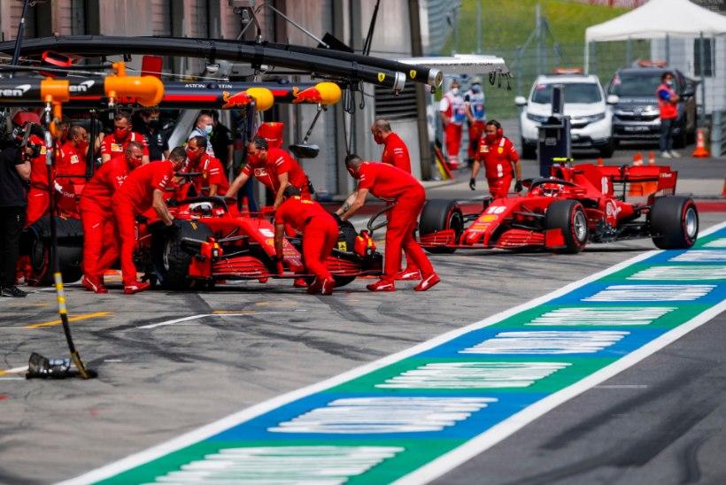 """""""Praegu pole meie tiim Ferrari nime vääriline."""""""