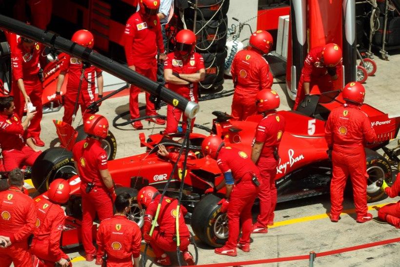 Ferrari õudustel pole otsa ega äärt! Mercedes noppis kaksikvõidu