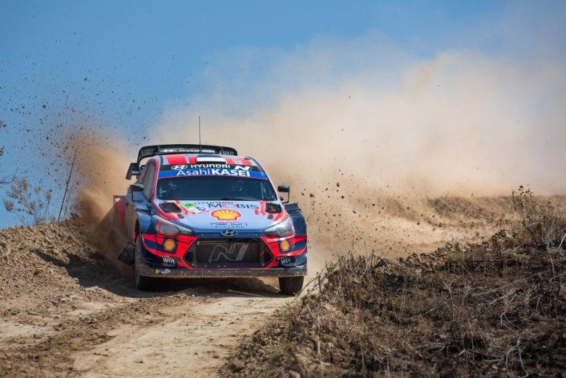 Kas Hyundai lõpetab Rally Estonial nukra seeria? Tänaku sõnul on seis lubav