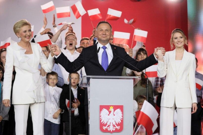 """Värskelt tagasi valitud Poola president: """"Seksuaalvähemused on jubedam 'ideoloogia' kui kommunism."""""""