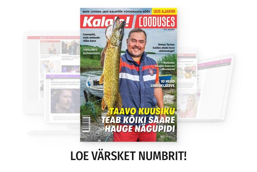 Ajakirja Kalale! Looduses juulinumber on ilmunud!