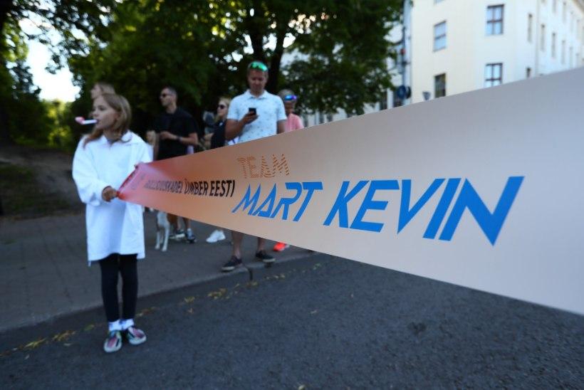 FOTOD | Ümber Eesti rullsuusatanud Mart Kevin Põlluste: peas on suur rõõm, kõik muud kohad valutavad