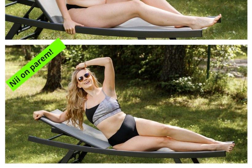Ära põe oma keha! Endine miss Madli Vilsar õpetab vormikaid naisi piltidel poseerima