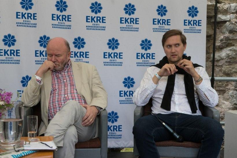 Keskerakond ja EKRE loobusid Arvamusfestivalil oma teemadega esinemast
