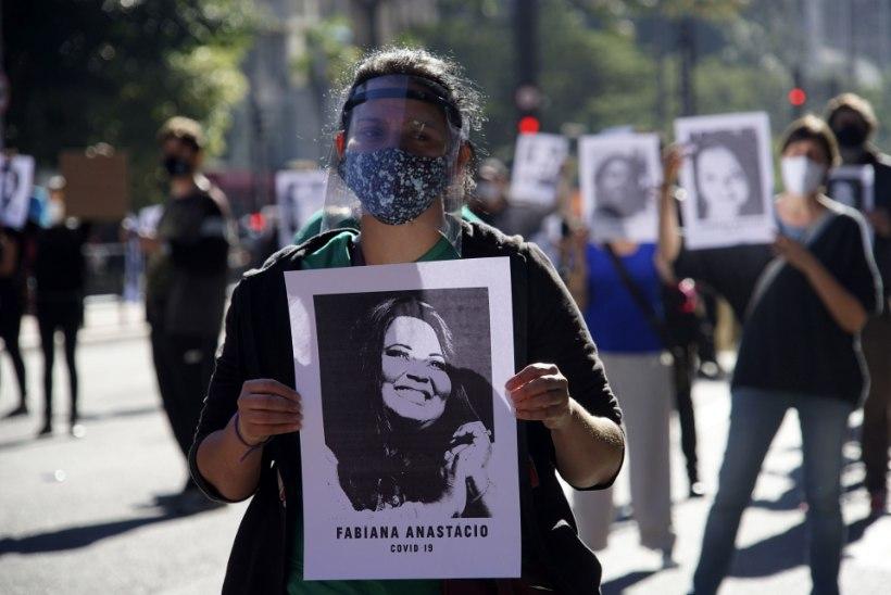 Brasiilias paigaldatakse politseinikele kerekaamerad, et vähendada vahialuste väärkohtlemist