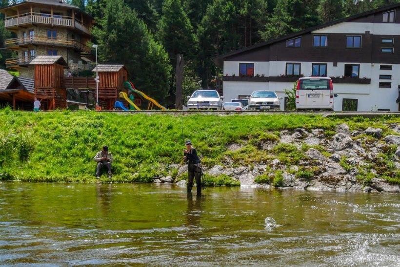 Kalastusreis Slovakkiasse − suured kalad heitliku ilma kiuste