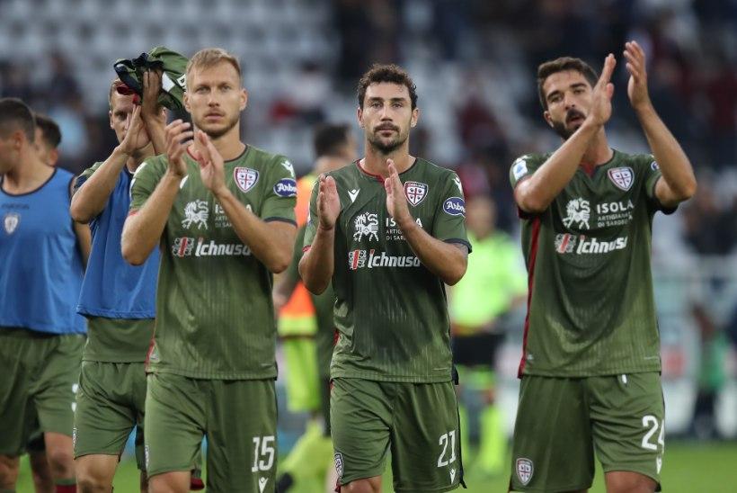 Klavanita mänginud Cagliari sai võõrsil suure kaotuse