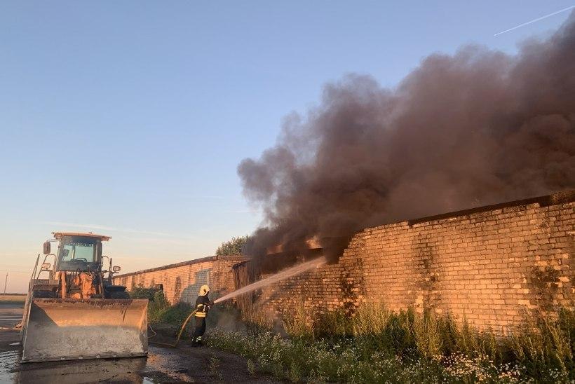 VIDEO JA FOTOD   Järvamaa põlengu suitsusammas paistis kümne kilomeetri kaugusele