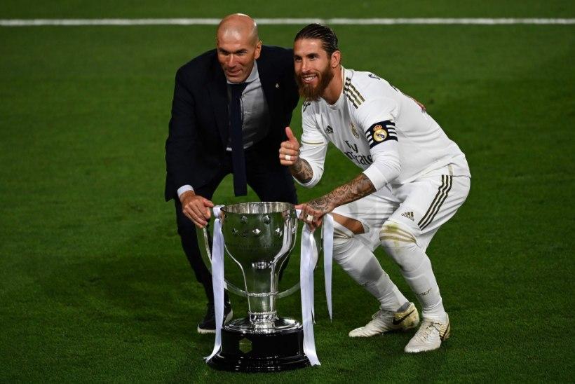 Palju õnne, Madridi Real! Ja unustage jalgpalli Meistrite liiga, kõige rohkem loevad kodused sarjad!