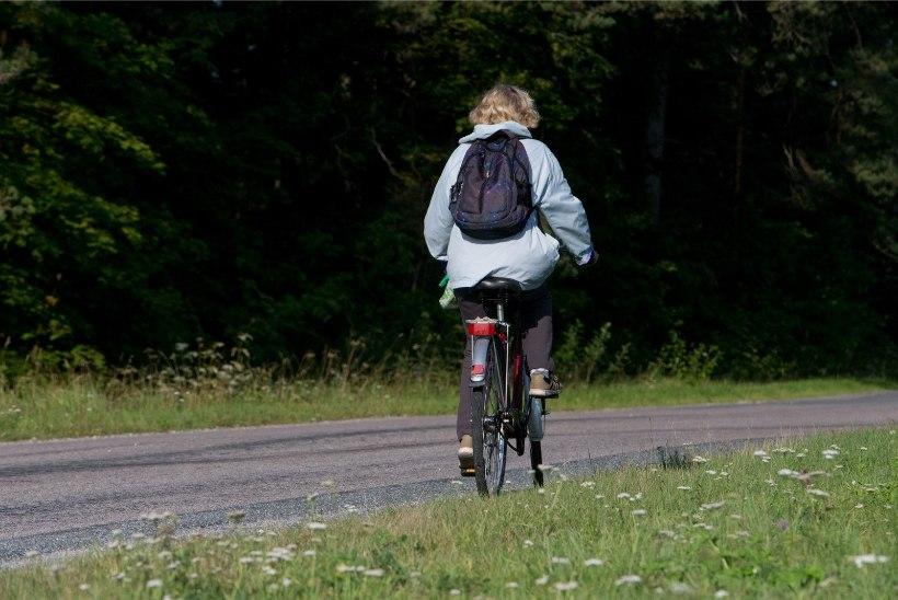 Politsei otsib kolmapäeval Astangul liiklusõnnetuses osalenud jalgratturit