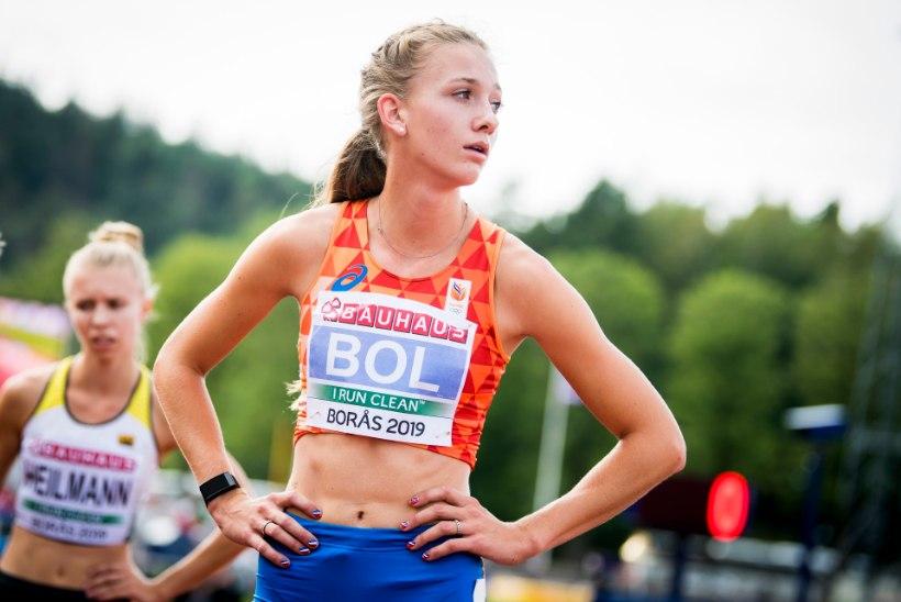 20aastane Hollandi tõkkejooksja püstitas võimsa rahvusrekordi