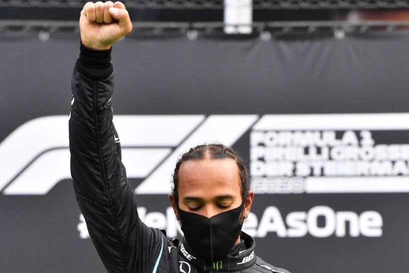 Vormel 1 legendid kritiseerivad Lewis Hamiltoni. Endine maailmameister: soovin, et poliitikat ei segataks sporti
