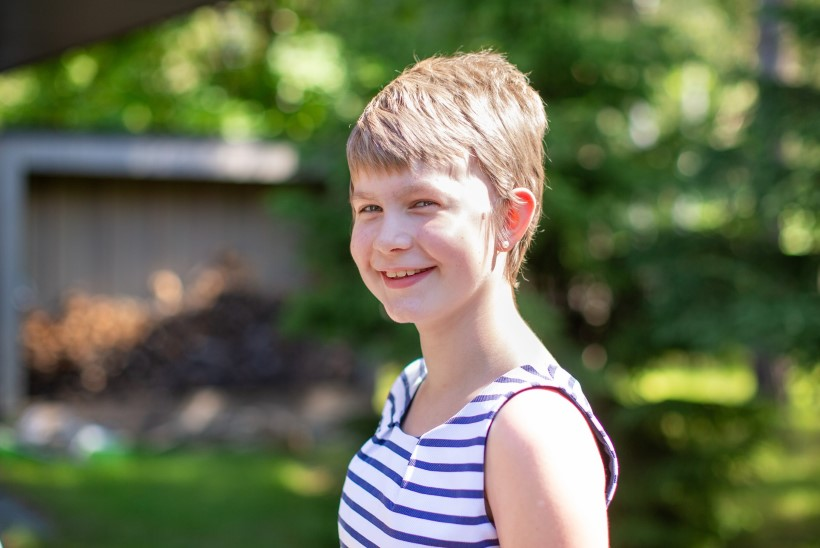 Uskumatult tubli! 9aastane ajukasvajaga Lenna ei jäta haiguse tõttu midagi tegemata