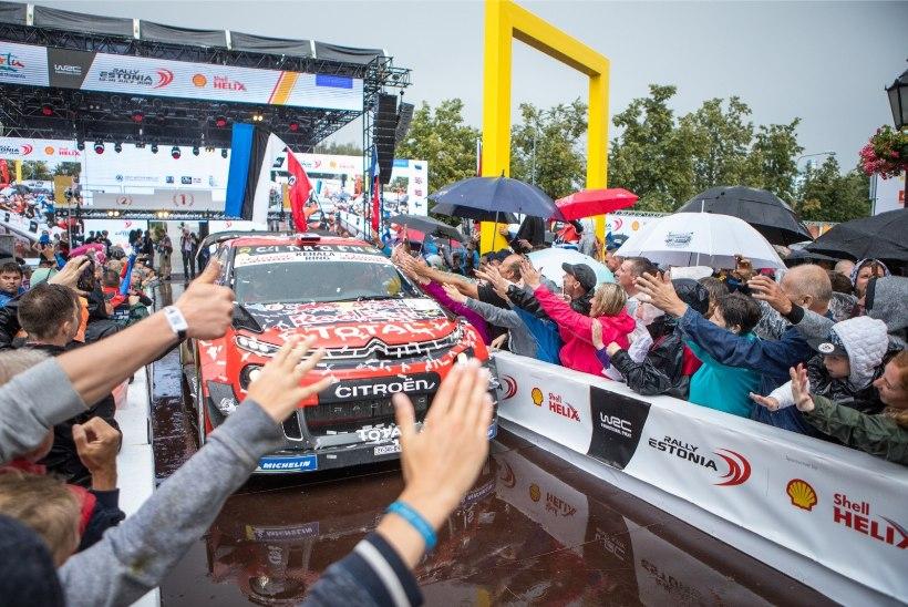 Rally Estonia leidis uue suurtoetaja