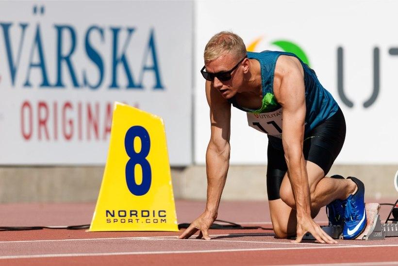 Koroonakriis tõmbas Eesti kiireima mehe rekordivormile pidurit