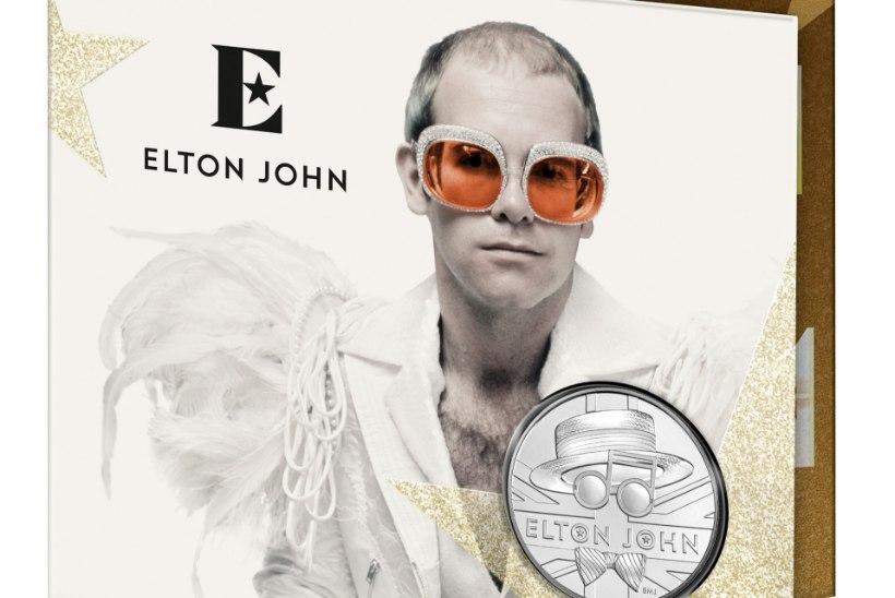 Ka Eestis on nüüd võimalik soetada populaarseid Elton Johni meenemünte