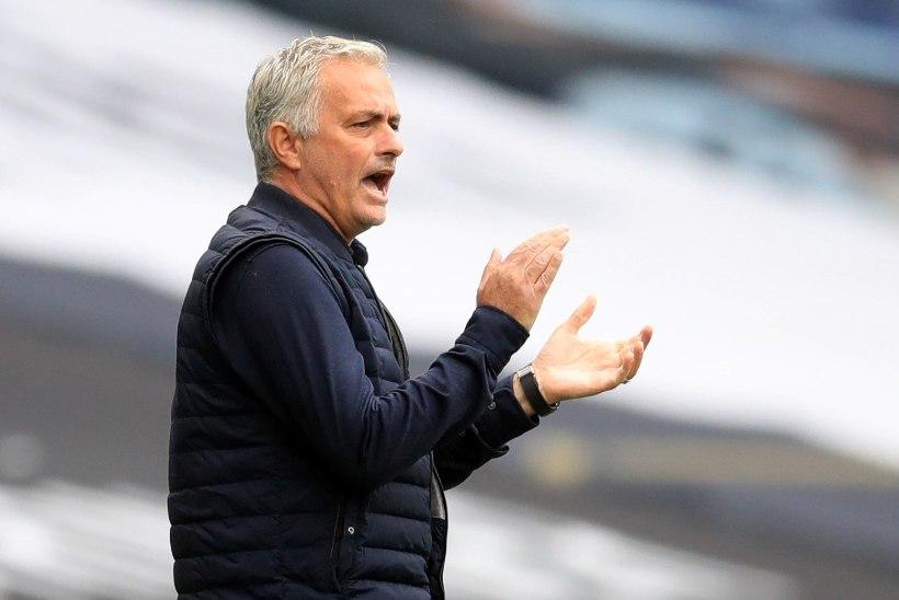 VIDEO | Mourinho esimene kihutuskõne Tottenhami mängijatele trükimusta ei kannata