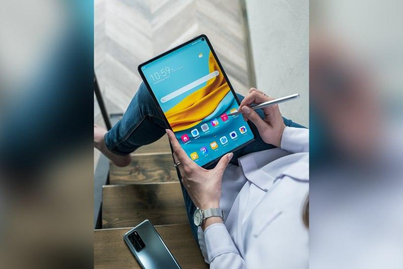 Kes arvas, et tahvelarvutite ajastu on läbi? Huawei MatePad Pro tõestab kindlalt vastupidist!