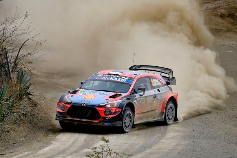 Hyundai teatas Rally Estonia koosseisu