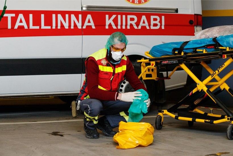 SALATSEMISE HIND: koroona tõttu isoleeritud võivad ohustada kiirabitöötajaid