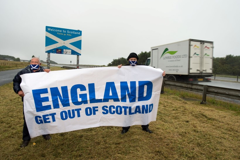 Boris Johnson ei toeta šotlaste iseseisvumist