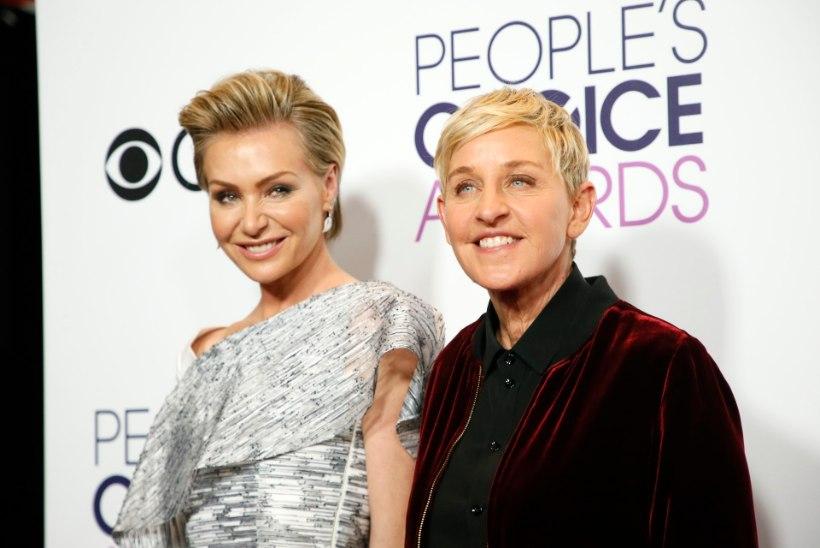 Ellen DeGenerese ja Portia de Rossi majja murti sisse!