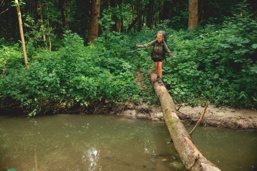 """Kahe kuuga 820 kilomeetrit kõndinud neiu: """"Pikk matk rikub inimese ära."""""""