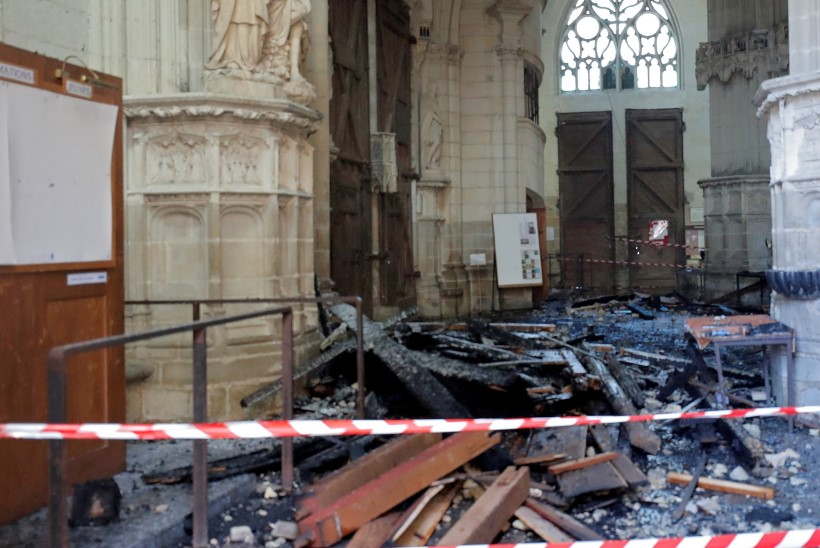 Rwanda pagulane tunnistas Nantes'i katedraali süütamist