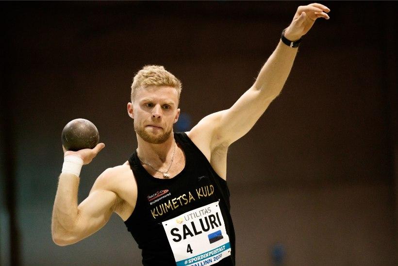 KANNAPÖÖRE: kevadel loobumisest teatanud Saluri jätkab tippsportlasena