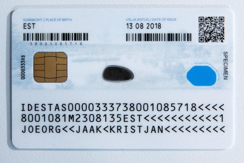 ID-kaarti kasutati edasi ka pärast inimese surma