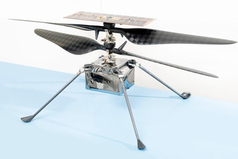 KOSMOSEUURIMISE UUS TASE: kulgur võtab Marsile kaasa helikopteri... ja meened!