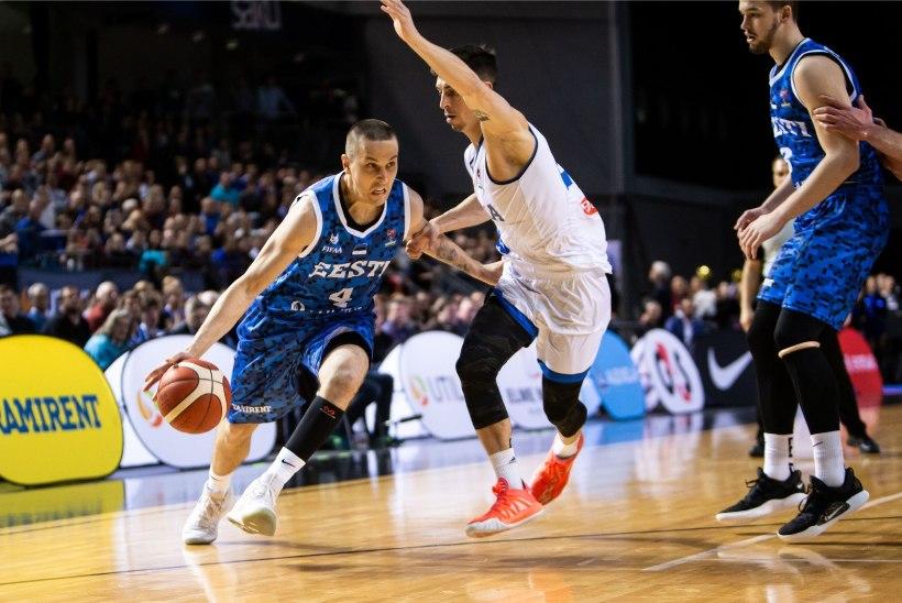 Korvpallikoondist tabas Soomega mängude eel kaks tagasilööki
