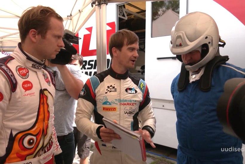 TV3 VIDEO | Rally Estonia ettevalmistusega tutvunud Ratas istus ralliautosse