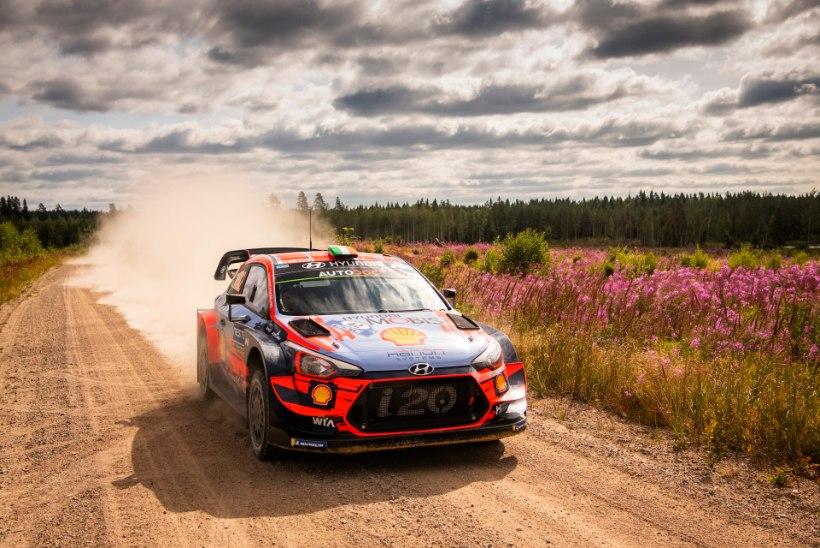 Lõuna-Eesti teedel varasemalt mitu korda kihutanud Hyundai äss loodab kogemused Rally Estonial maksma panna