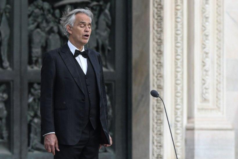Itaalia koroonareeglid solvasid tipptenor Andrea Bocellit