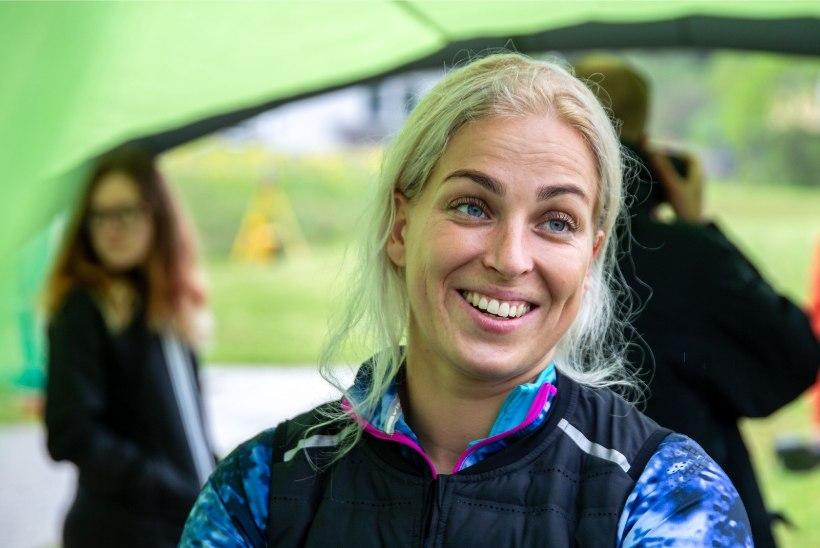 TUBLI: Kati Ojaloo alustas hooaega Soomes pikkade heidetega, eesmärk on 70 meetri joone alistamine
